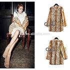 QD5717 desigual woman clothes leopard rabbit fur coat plus size women clothing alibaba website