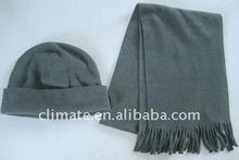 fleece set,winter set,polar fleece hat scarf set