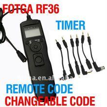 Fotga Changeable Timer Remote Cord for Nikon D7000 D5000 D90 D3100 D3000 D5300 D600 Wholesale OEM