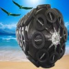 Ocean cushion netted style of Pneumatic rubber fender