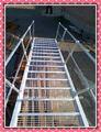 Mergulho quente galvanizado de armazenamento prateleira da escada de acesso