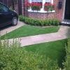Comfortable color vision fake carpet turf grass