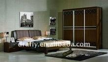 Fabric head board bedrom set furniture