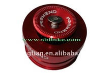 Bicycle part aluminium alloy material 44MM diameter and bulit in inner ball bearing 3 colors available
