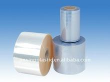 blue PVC heat shrink film