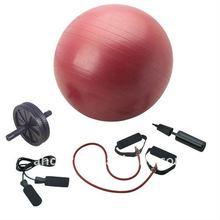 Yoga Kit/Body Shaping set/Gym ball/AB Wheel/Exercise tube