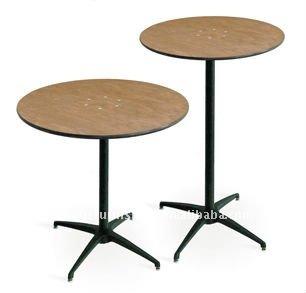 30 de alta barra redonda de madeira mesa mesas de - Table de bar ronde ...