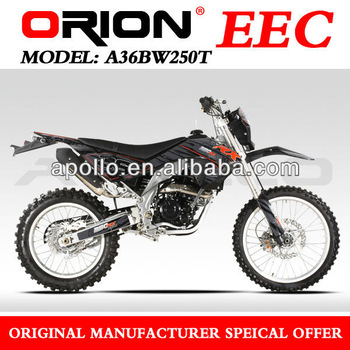 China Apollo Orion EEC Approved On Road Motorcycle 250CC (A36BW250T New 21/18)