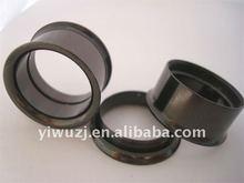 china Anodized 316l stainless steel screw on flesh tunnel body piercing jewelry, ear plugs body piercing jewelry