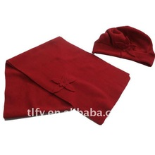 Promotional gift set Lady cap lady scarf 2012 new style
