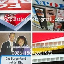 Printed Plastic PP Corflute Signs