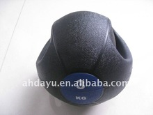 Handle Medicinal ball / Weight ball filled with iron sand