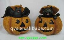 Halloween resin pumpkin