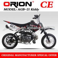 China APOLLO ORION 70CC Mini Cross Dirt Bike 70cc Kids Pit Bike (AGB-21 70cc kick start)