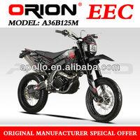 China Apollo ORION EEC Dirt Bike 125cc EEC Motard 125CC EEC motorcycle 125CC (A36B125M New 17/17)