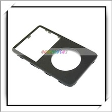 HOT! Black Front Cover Panel FacePlate Housing For iPod Video