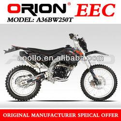 Enduro 250cc EEC BIKE 250cc Water cooled 250CC APOLLO ORION A36BW250T 21/18