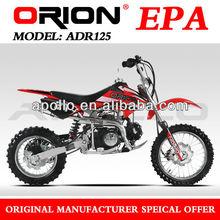 China Apollo ORION EPA Approved 125CC dirt bike mini cross 125cc pit bike 125cc