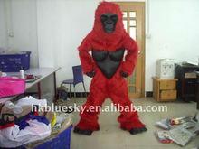 2012 fur orangutan mascot costume