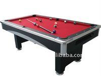 Top grade and elegnt metal corner 7ft pool table