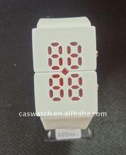 Silicone Popular Watch,LED Light,digital movement