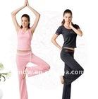 Hot girls tank tops,ladies yoga wear,eco yoga pants