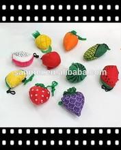 magical nylon fruit bag folding rolling shopping bag