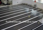 PTC under floor heating mat