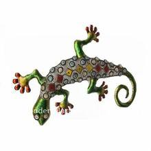 Antique Design Metal Lizard Wall Plaque Decoration