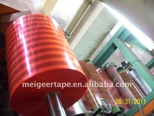 Our Workshop Pink Red Jumbo Roll BOPP Tape