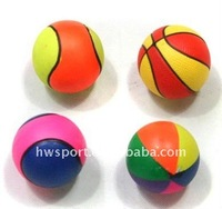foam hard rubber ball bouncing