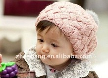 Knitted Custom Baby Winter Hat Finishing Factory