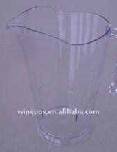 plastic wine pitcher, wine jug, beer jug