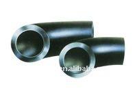 pipe fitting carbon steel API 5L GR.B 90deg lr elbow