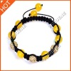 Handmade beads woven rope bracelet accessories for women