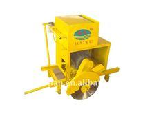 machine for cutting hollow blocks