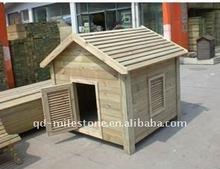 Wooden breeding cage dog