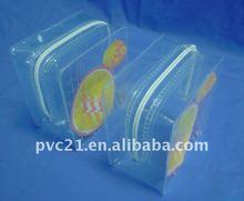square EVA pouch with zipper