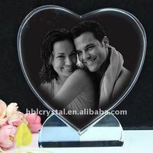 fashion heart shape crystal gift for wedding