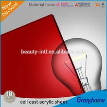 color acrylic plastic board (PMMA board)