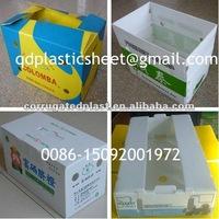 PP Corrugated Plastic Vegetables Boxes