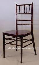 Mahogany knock down hotel chiavari chair