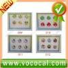 For iPhone 4 Button Sticker Cute Design
