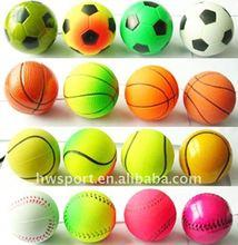 small hard rubber bouncing ball