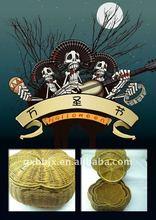 Awn woven and iron frame pumpkin Halloween decorative crafts