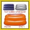 2011 Comfortable Cheaper plastic pvc Inflatable beach pillow