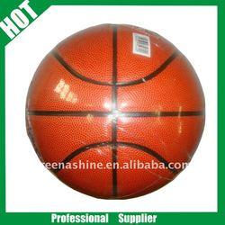 high quality PU lamunation training basketball