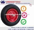 Roda do carrinho de mão de pneus com aro 4.80/4.00-8