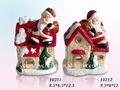 decoração de natal santa presentes