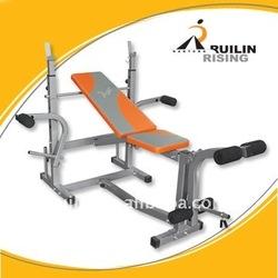 Self-locking Weight bench (fitness equipment/machine)